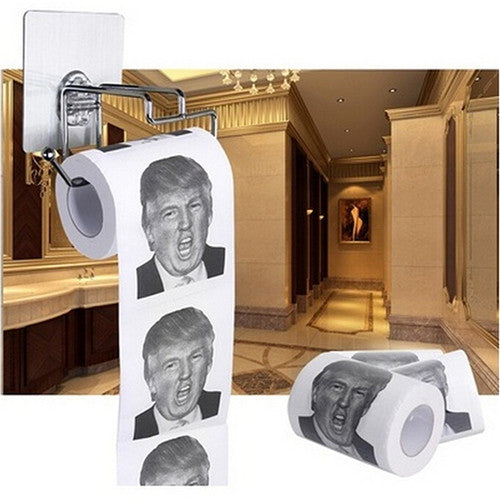 Donald Trump Face Toilet Paper