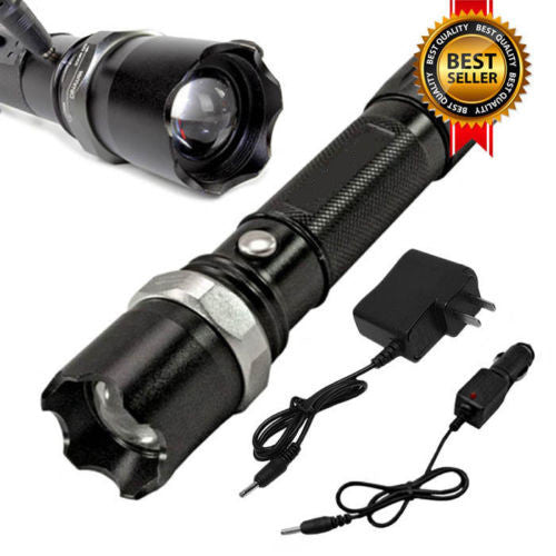 Heavy Duty Tactical Police Flashlight