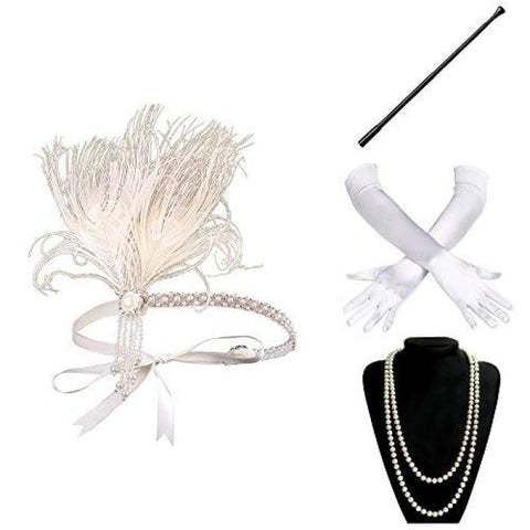 1920S Flapper Accessories Roaring 20S Gatsby Costume Accessories Set Accessory Sets