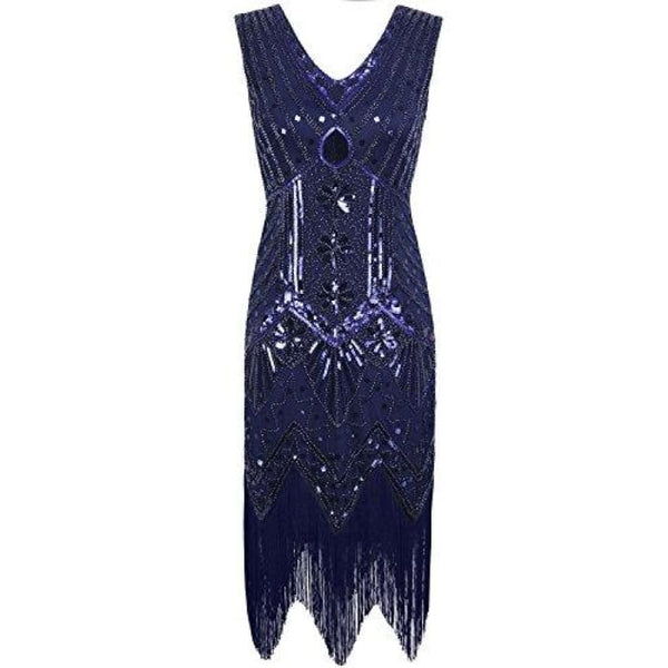 1920S Gatsby Dress Sequin Art Deco Inspired Flapper Dress Back To Results