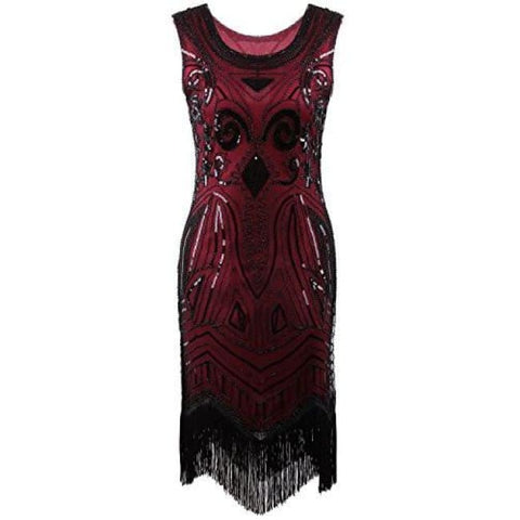 1920S Vintage Gatsby Bead Sequin Art Nouveau Deco Flapper Dress Back To Search Results For 1920 Dresses For Women