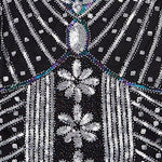 1920S Vintage Gatsby Bead Sequin Art Nouveau Deco Flapper Dress Dresses