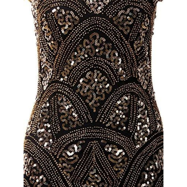 1920S Vintage Prom Gatsby Flapper Dress Back To Results