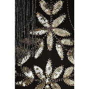 1920S Vintage Sequin Full Fringed Deco Inspired Flapper Dress