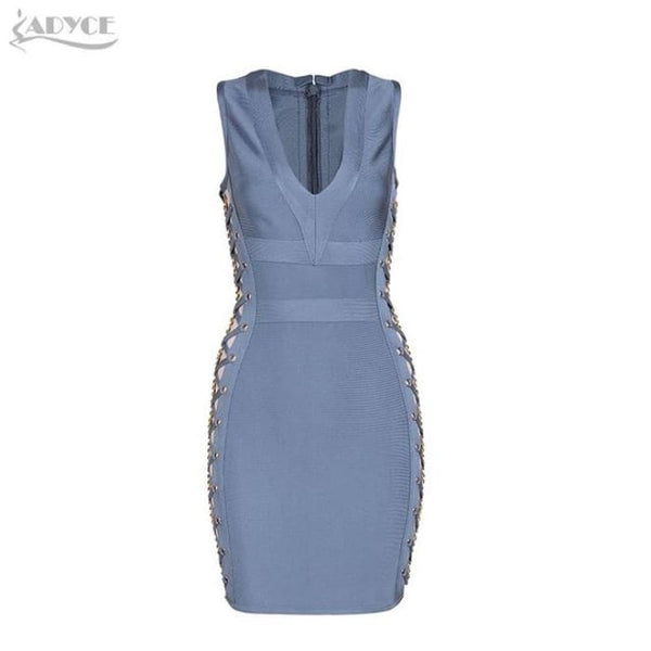 2018 New Women Spring Bandage Dress V-Neck Mini Dresses 01 / Xs Dresses