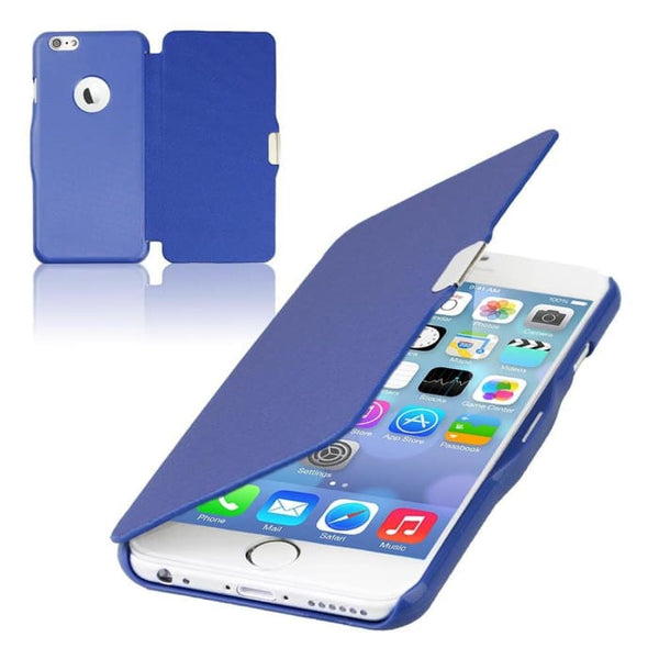 6S/6+ Capa Ultra Thin Pu Leather Case For Apple Iphone 6 6S 4.7Inch/ For Iphone 6 6S Plus 5.5Inch Magnetic Chip Back Phone Cover Phone Bags