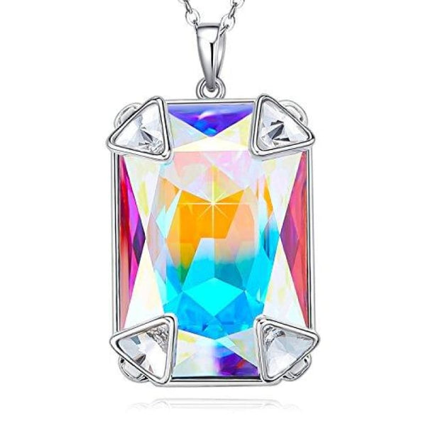 Angel Wing Mothers Day Gifts Love Heart Necklaces For Women Gifts For Women Girls Z2.multicolor