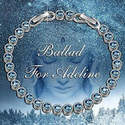 Ballad For Adeline Bracelet 7.5 Made With Swarovski Crystals Back To Results