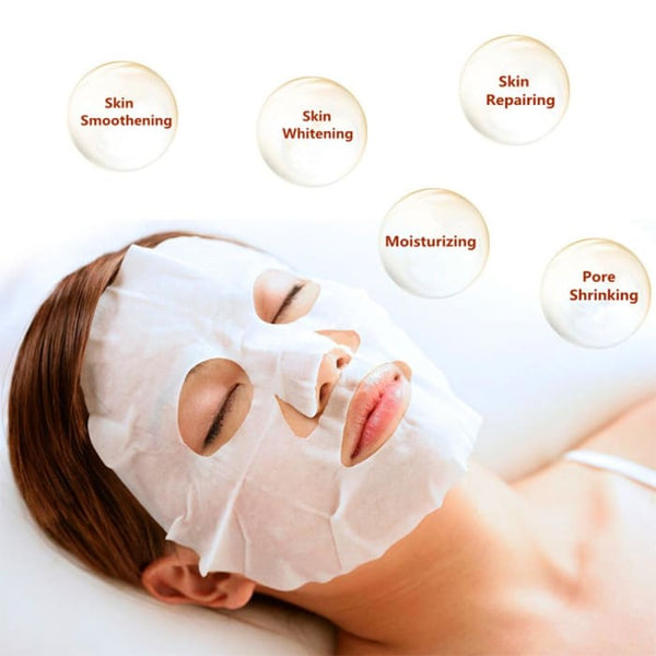 Bioaqua Gift Box Face Mask Various Plants Extracts & Hyaluronic Acid Treatments & Masks
