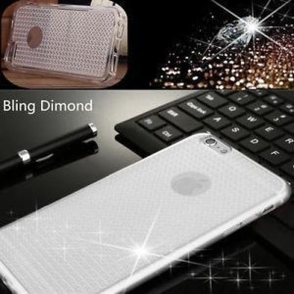 Bling Dimond Iphone 5 5S Se 6 6S 6 Plus 6S Plus Tpu Soft Shockproof Case Cases Covers & Skins