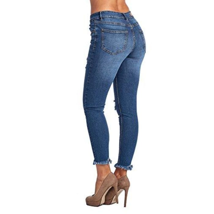 Blue Age Womens Butt-Lifting Skinny Jeans Jeans