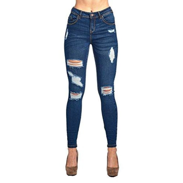 Blue Age Womens Butt-Lifting Skinny Jeans Jp1063_Dark Wash / 1 Jeans