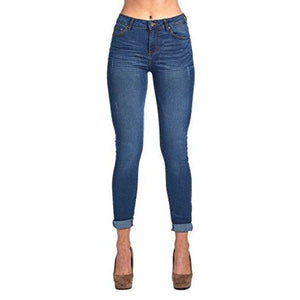Blue Age Womens Butt-Lifting Skinny Jeans Jp1064_Medium Wash / 1 Jeans
