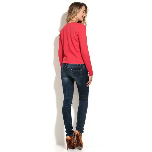 Cardigan DSK-23-30 coral Jersey