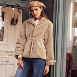 Casual Warm Thick Faux Fur Coat