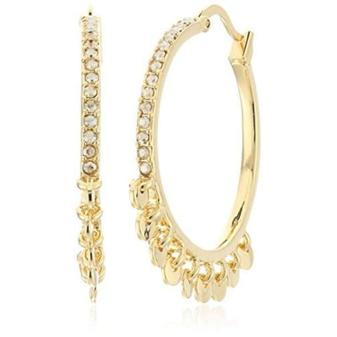 Diane Von Furstenberg Summer Disco Swarovski Stone Shaky Circle Hoop Earrings Our Favorites: The Jewelry Edit
