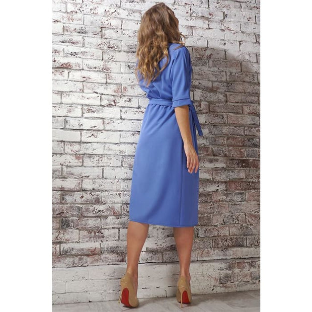 Dress Ariadna; color: blue