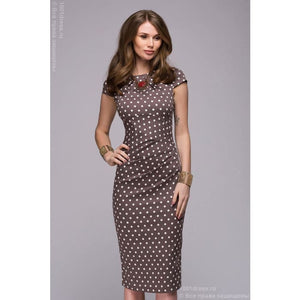 Dress DM00204BR coffee