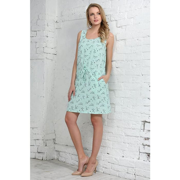 Dress Leon ; color: menthol
