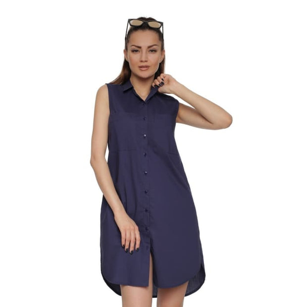 Dress - shirt FH29817 color: dark blue