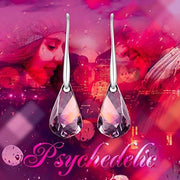 Drop&dangle Pierced Earrings Made With Swarovski Crystals Back To Lady Colour Store