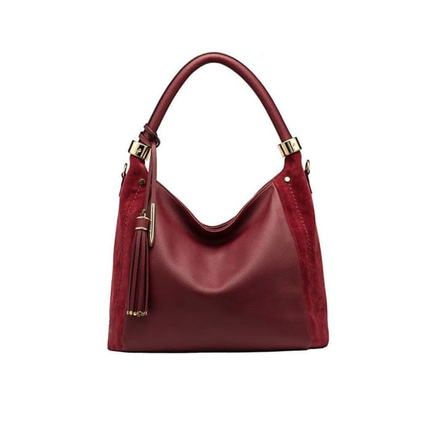 E3008 Rumi Burgundy Women - Bags - Shoulder Bags