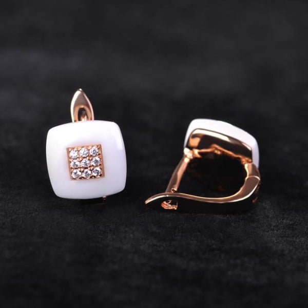 Earrings Ring Set Chinese Porcelain Women Wedding Jewelry Sets Jewelry Sets