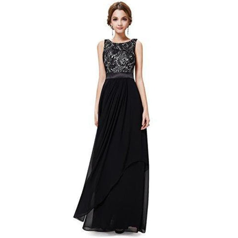 Ever Pretty Elegant Sleeveless Round Neck Evening Party Dress Prom & Homecoming