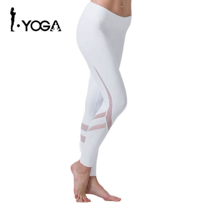 Fitness Yoga Sports Leggings For Women Sports Tight Mesh Yoga Leggings Yoga Pants