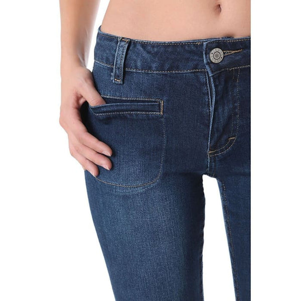 Flare Jeans With Patch Pockets Women - Apparel - Denim - Jeans