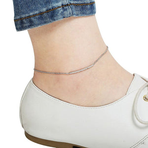 Forever Sleek Studded Anklet Women - Jewelry - Bracelets