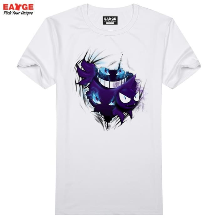 ecfafab7a Gengar Out Of Your T Shirt Design 3D Effect Pokemon Go T-Shirt Cool Novelty  ...