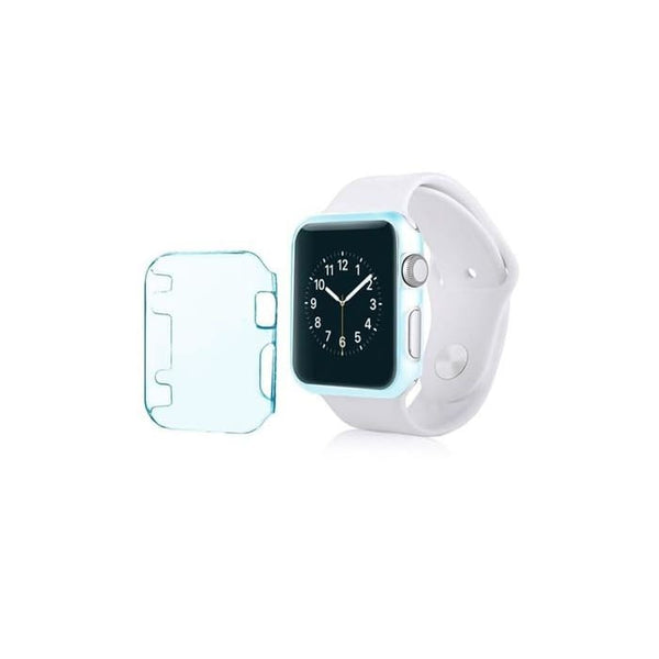 Insten For Apple Watch Iwatch 42Mm Sport Case Clear Light Blue