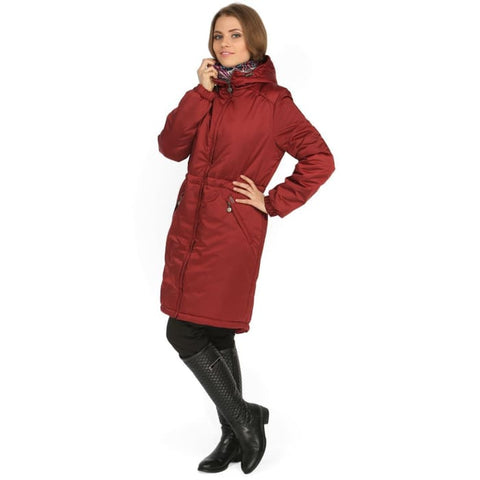Jacket Demi-season Kelly Bordeaux