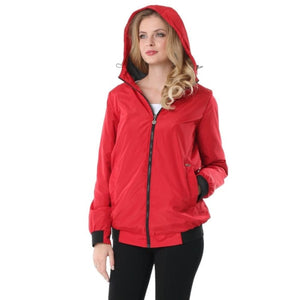 Jacket demi-season Orlando ; color: red