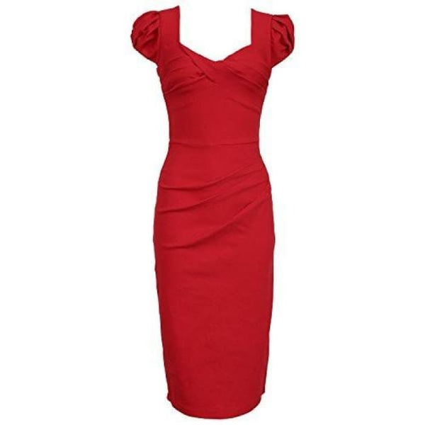 Juese Womens Casual Office Cap Sleeve Pencil Party Dress Back To Search Results For Woman Dre