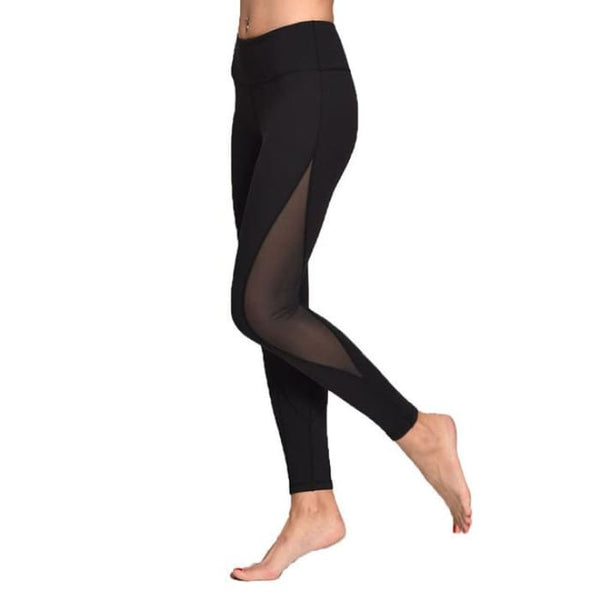 Leggings For Women Yoga Compression Pants Women Sports Gym Tights Black / S Yoga Pants