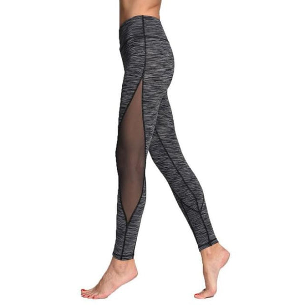 Leggings For Women Yoga Compression Pants Women Sports Gym Tights Grey / S Yoga Pants