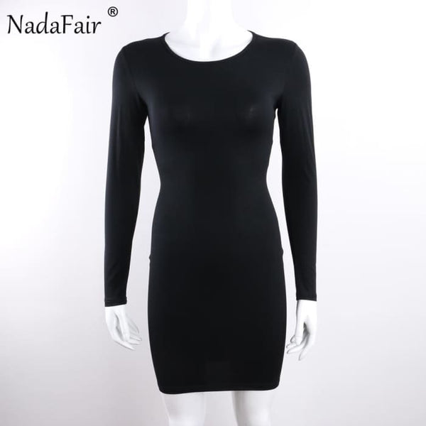 Long Sleeve Stretchy Sexy Club Bandage Bodycon Dress Dresses
