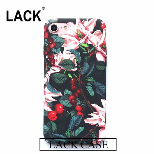 ee0232c9c35 Luxury Cute Cartoon Flowers Floral Plastic Hard Phone Cases Back Cover  Coque Funda For Iphone 6