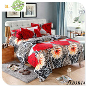 Luxury Washed 100% Polister Luxury Bedding Set 3D Anmail Tiger Peacock Bedding Queen King Size Dark Gray / King Bedding Sets