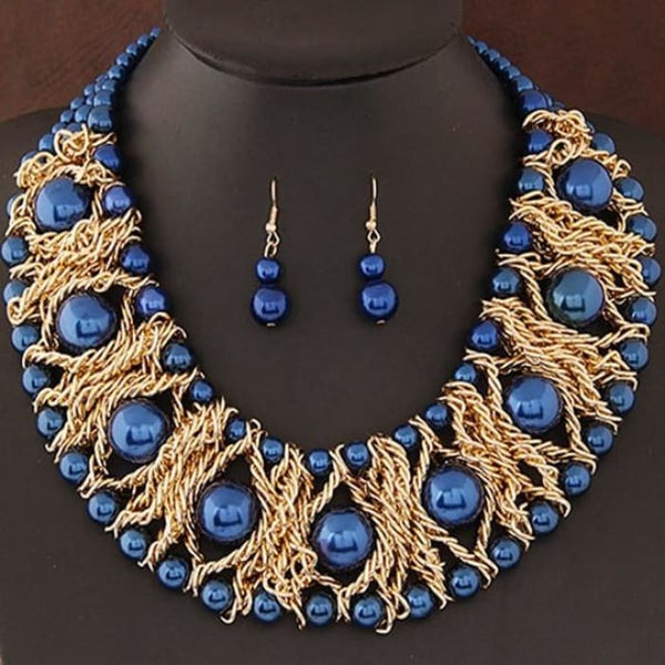 New Jewelry Sets For Women Boutique Jewelry Sets Blue Jewelry Sets