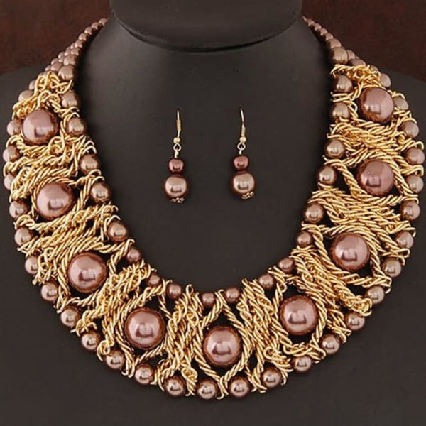 New Jewelry Sets For Women Boutique Jewelry Sets Coffee Jewelry Sets