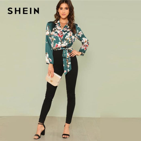 Office Lady Workwear Multicolor Boho Vacation Mid Waist Jumpsuits