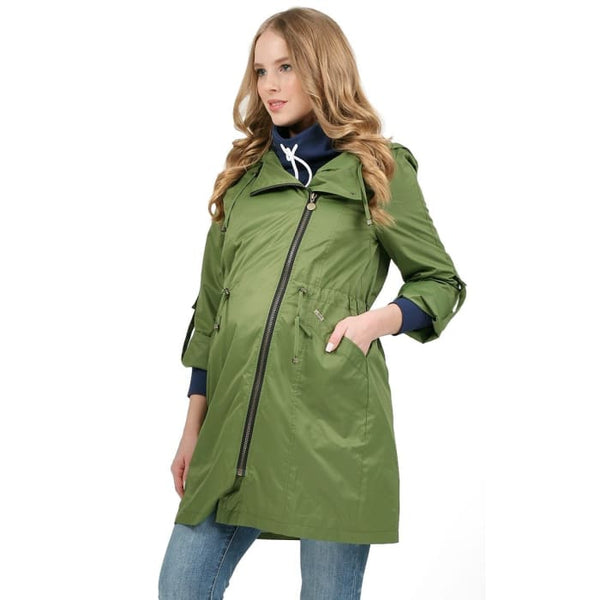 Raincoat 2in1 Cambridge for pregnant women green