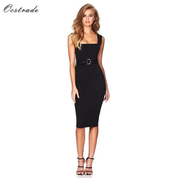 Red Wine Womens Ladies High Quality Dresses Black / Pp / China Dresses