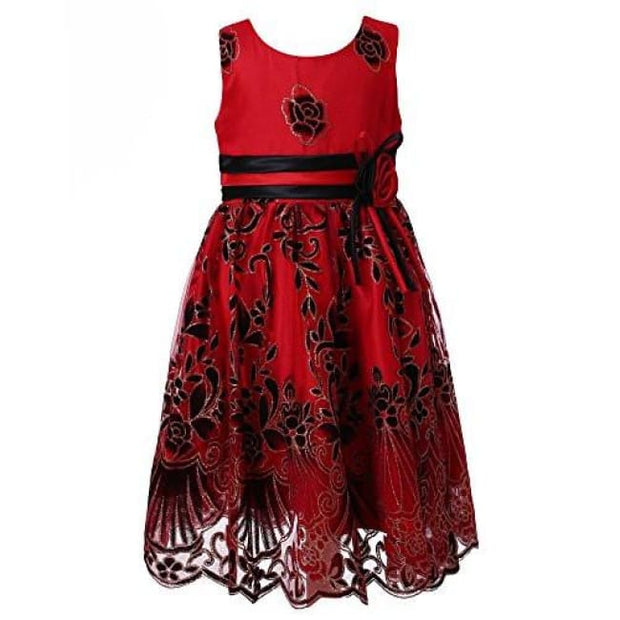 Richie House Little Big Girls Sweet Party Multi-Layered Dress Size 2-12 Rh2142 Back To Richie House Store