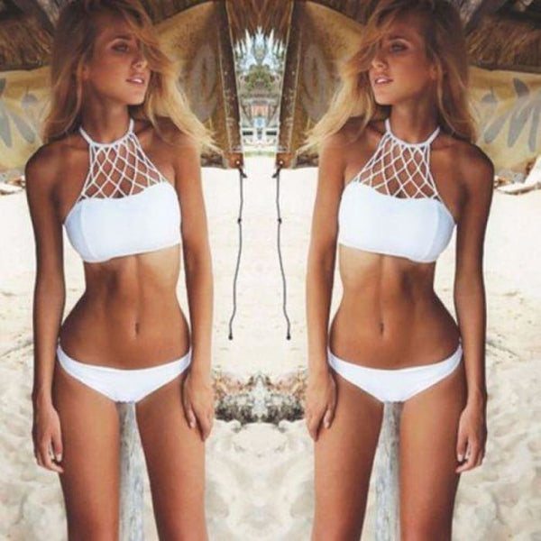 Sexy Women Bikini Set Bandage Push-Up Padded Swimwear Swimsuit Bathing Beachwear Swimwear