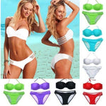 Sexy Womens Bikini Set Push-Up Padded Bra Swimsuit Swimwear Beach Bathing Suit Swimwear