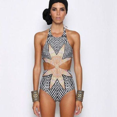 Sexy Womens One Piece Bikini Bandage Push-Up Swimsuit Bathing Monokini Swimwear Swimwear